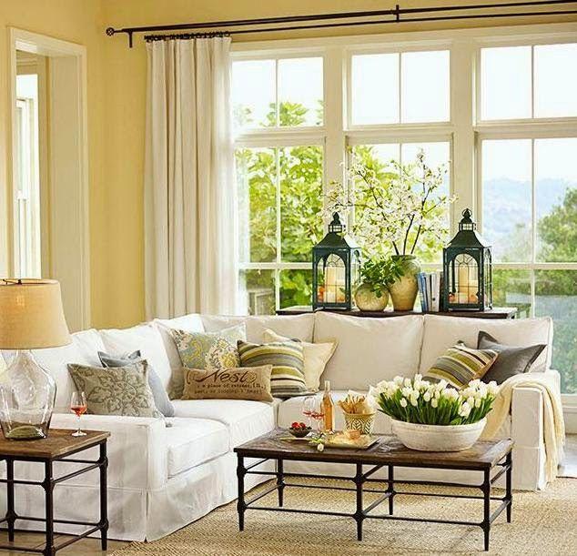 Styling Bay Window Sills Bay Window Living Room Bay Window