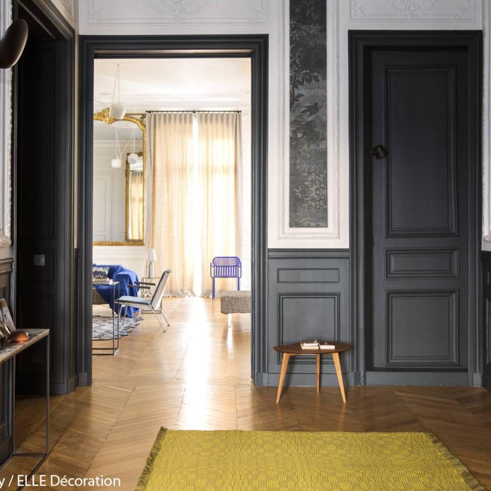 appartement haussmannien comment d corer un appartement haussmannien elle d coration entr e. Black Bedroom Furniture Sets. Home Design Ideas