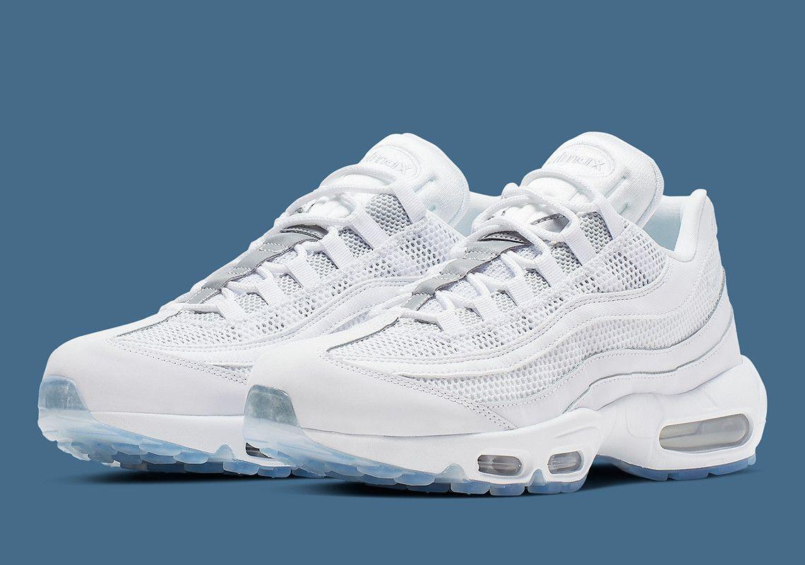 Nike Air Max 95 White Silver 749766 115 Release Info | Air