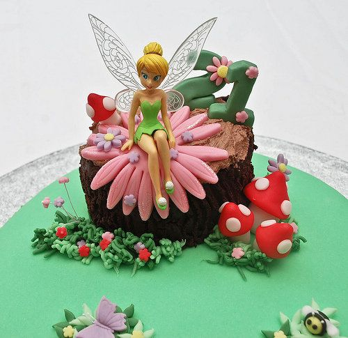 Tinkerbell Cake Topper Birthday Cakes Fairy Beautiful