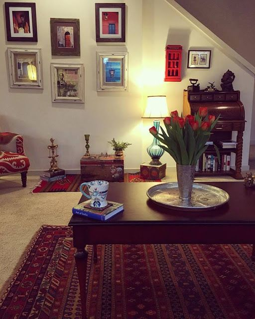 100th Post, Indian Décor Ideas, Indian Ethnic Homes