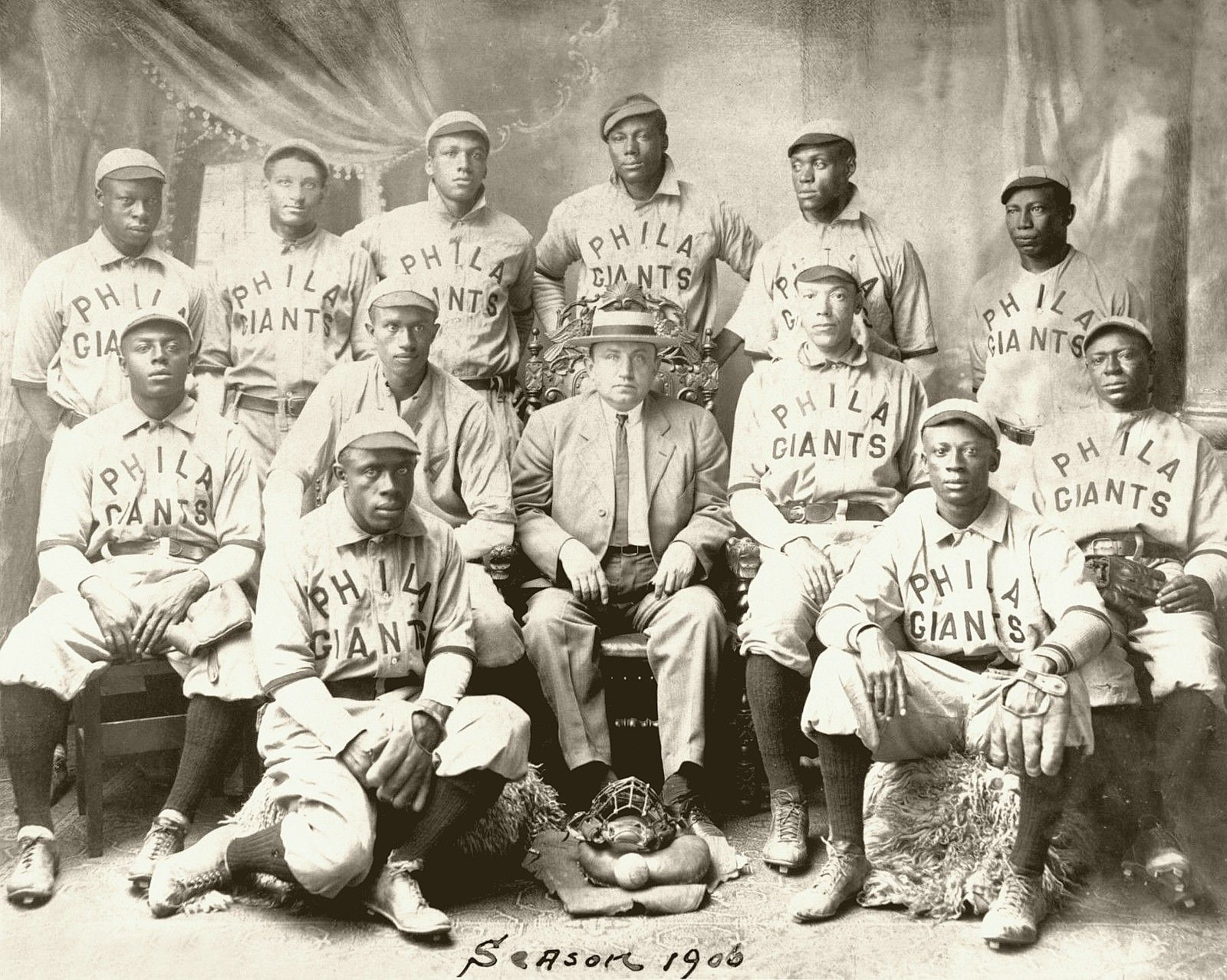 Philadelphia Giants, 1906 Negro League Champions