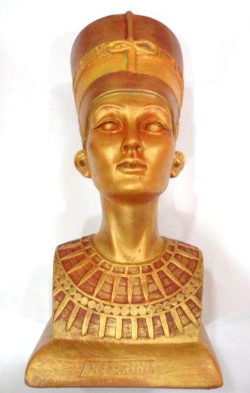 Nefertit Média - peça em gesso