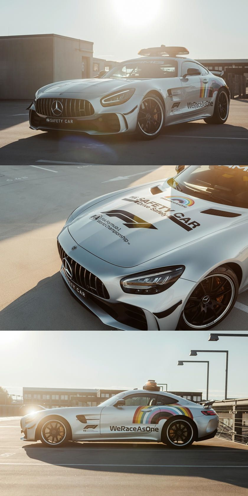 MercedesAMG GT R F1 Safety Car Gets A New Look. This is