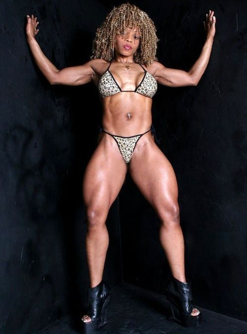 athleticsistas: Daveena Manase | Body Builders that went