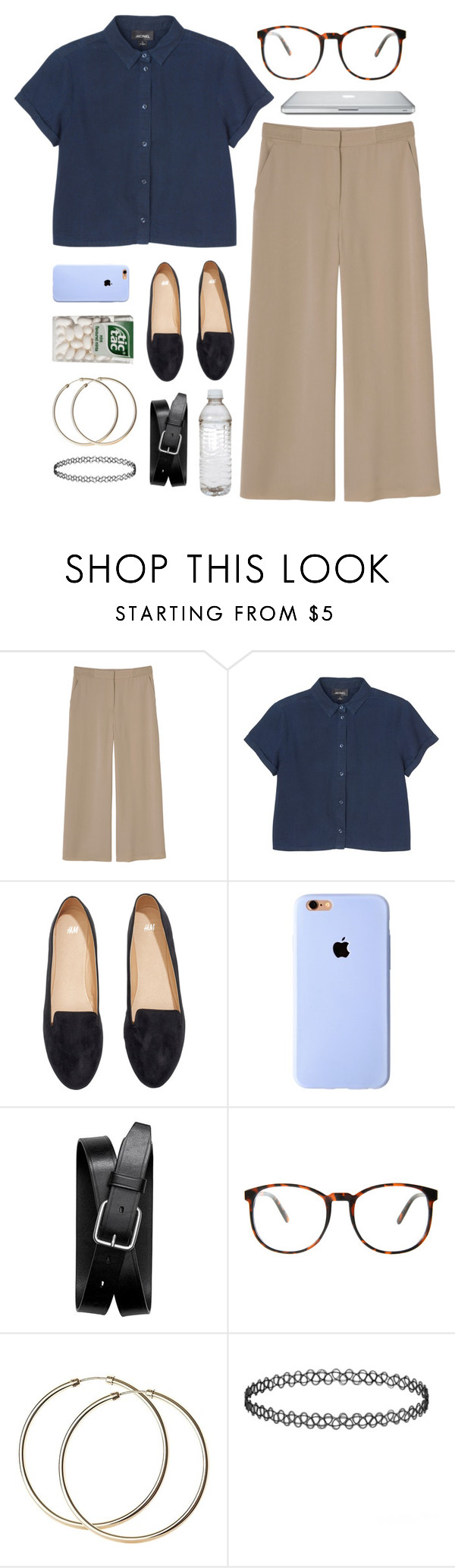"""if we had to have a uniform for school..."" by my-starry-eyed ❤ liked on Polyvore featuring Monki, H&M, Banana Republic, ASOS, women's clothing, women, female, woman, misses and juniors"