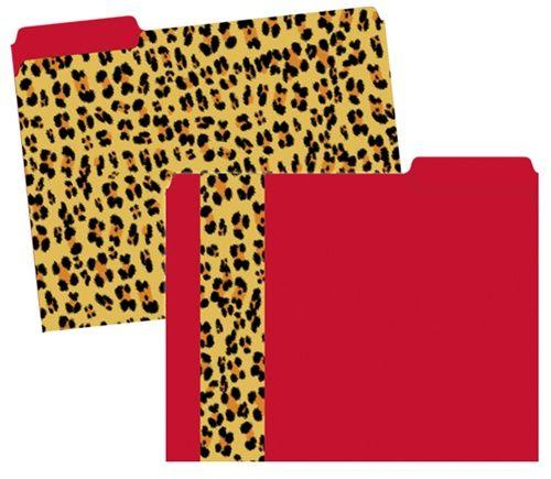 Leopard File Folders · Cheetah PrintLeopard PrintsAnimal PrintsOffice  FurnitureOffice ...