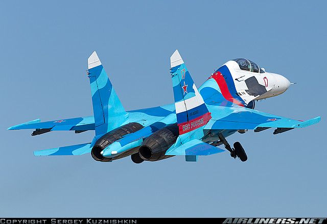 Sukhoi Su-27UB Russia - Air Force