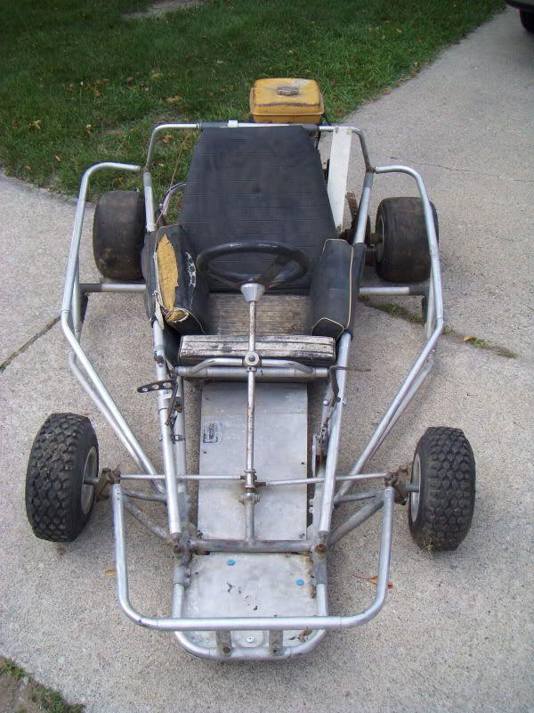 rare Blackhawk vintage racing kart on eBay - DIY Go Kart Forum | EV ...