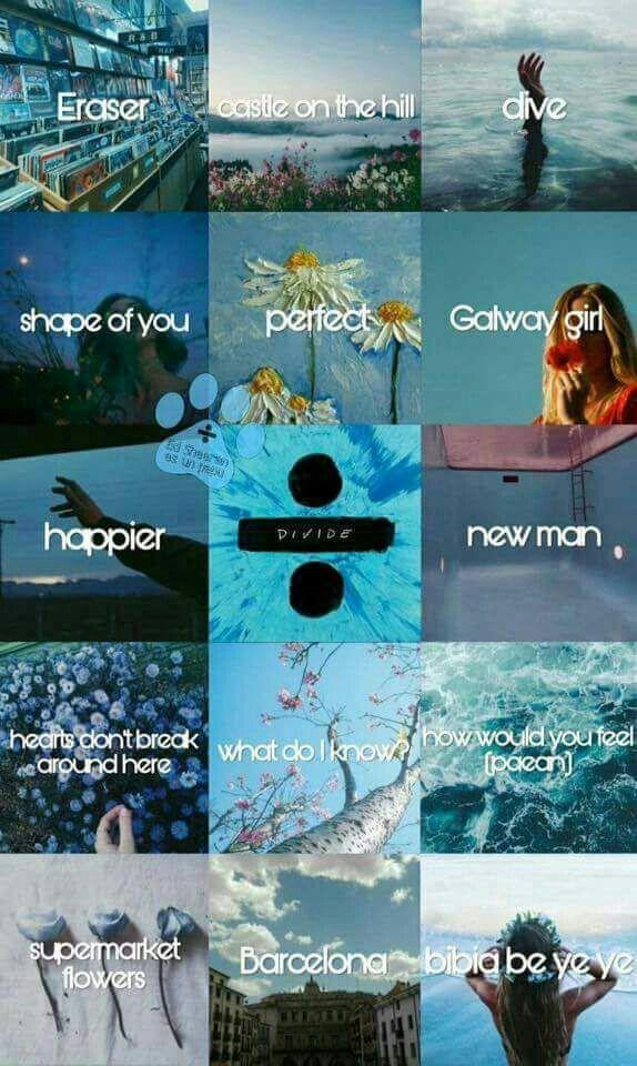 Ilustraciones De Las Canciones Para El Tour Divide Del Artista Ed Sheeran Tourdivide E Fondo De Pantalla Musical Letras De Ed Sheeran Canciones De Ed Sheeran