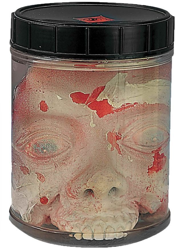 Head In Jar Halloween Decoration Ideas and Decor for Halloween