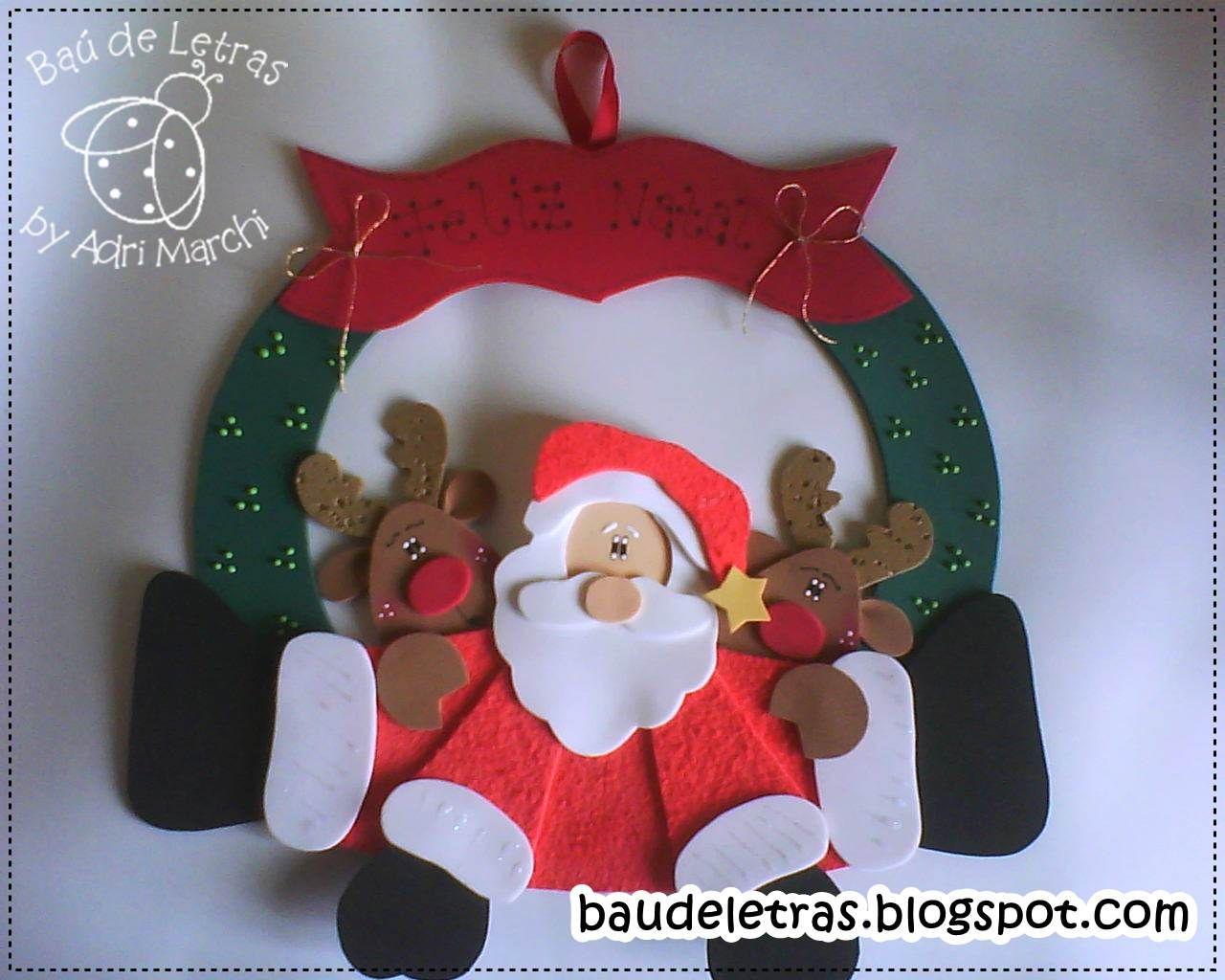 Mas en goma eva manualidades guirnaldas navide as en - Guirnaldas de navidad ...