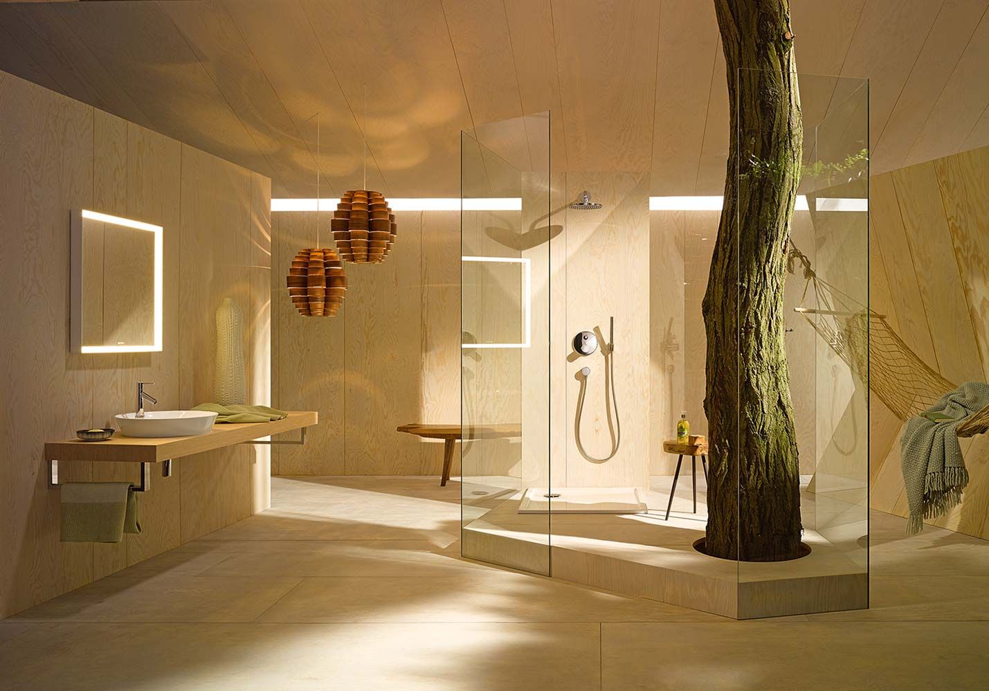 1000 images about salle de bains on pinterest buses red dots and design - Separation Baignoire Wc