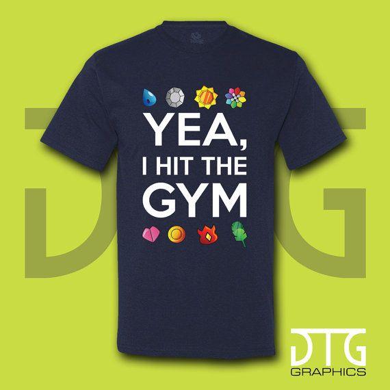 I Hit The Gym, Gym, Pokemon, Charmander, Squirtle, Bulbasaur ...