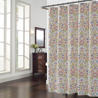 2999 Lots Of Color Too Busy Zara Shower Curtain
