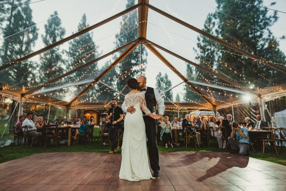 Chalet View Lodge Creates Fairytale Weddings In The Forest Romantic Outdoor Wedding Outdoor Wedding Venues Fairytale Weddings
