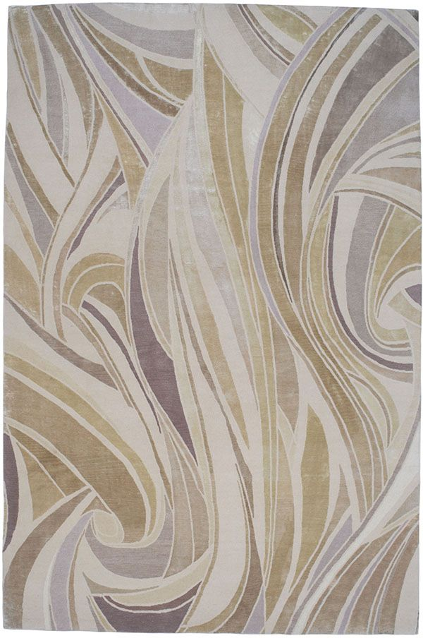 London Swirl By Paul Smith For The Rug Company Golden