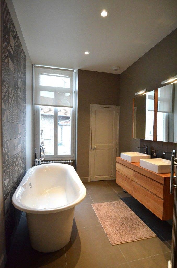 Fenêtre  store Salle bain 1er Pinterest