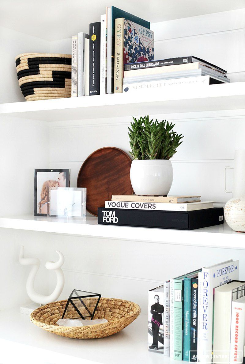 How to Style Shelves: 6 Ideas to Get you Started | White floating ...