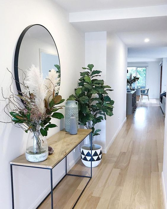 20 Popular Entryway Ideas With Round Mirror To Style Your Home
