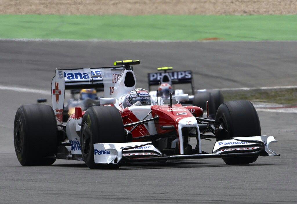 Timo Glock                                       TOYOTA  TF109                               RVX-09  (NA 2.4L-V8)