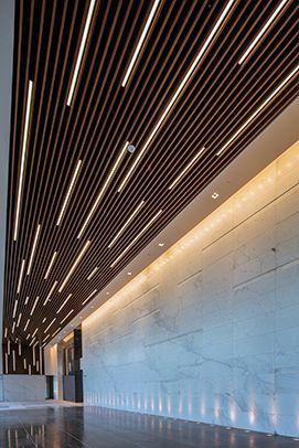 Hunter Douglas Contract At Energy Center 4 Corridor Design