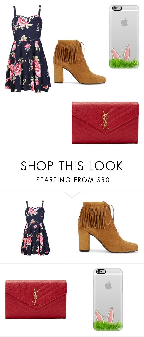 """""""Happy Easter"""" by reaganburt ❤ liked on Polyvore featuring beauty, Ally Fashion, Yves Saint Laurent and Casetify"""