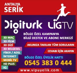 Digiturk Serik Bayi Vip Servis Digiturk Antalya