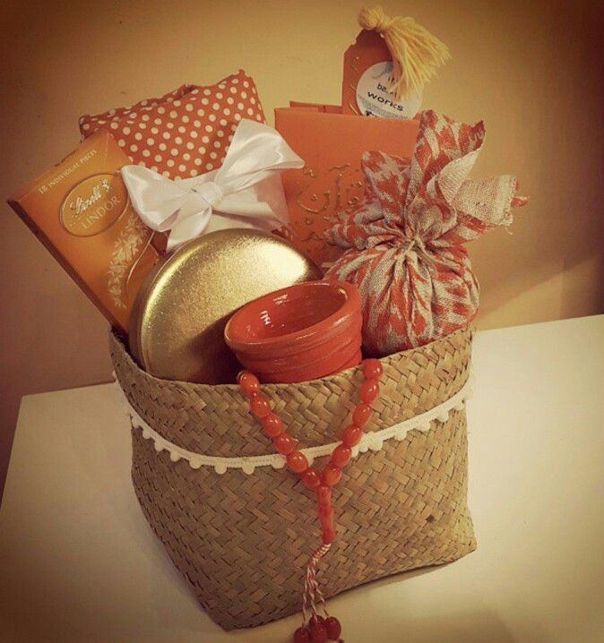 Ramadan Essentials Gift Basket By Basketworks Bh Ramadan Gifts Gift Baskets Ramadan Crafts