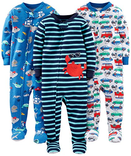 Amazon 10 Cute Simple Joys By Carter S Clothes For Baby Boys Best Deals For Kids Trendy Baby Clothes Clothes Cotton Pyjamas