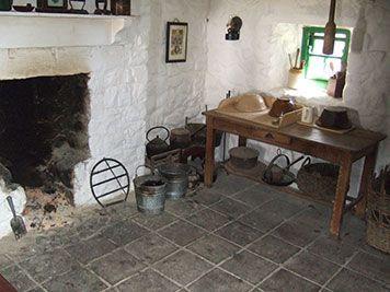 Leenane Galway Farmhouse Interior