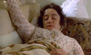 Sophie Thompson as Mary Musgrove in Persuasion, such a great character.