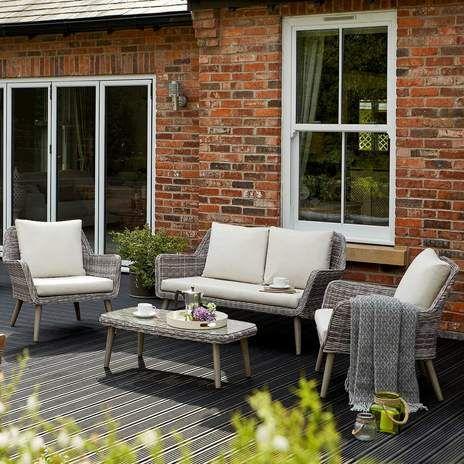 Harlestone Lounging Garden Furniture Set Wyevale Garden Centres