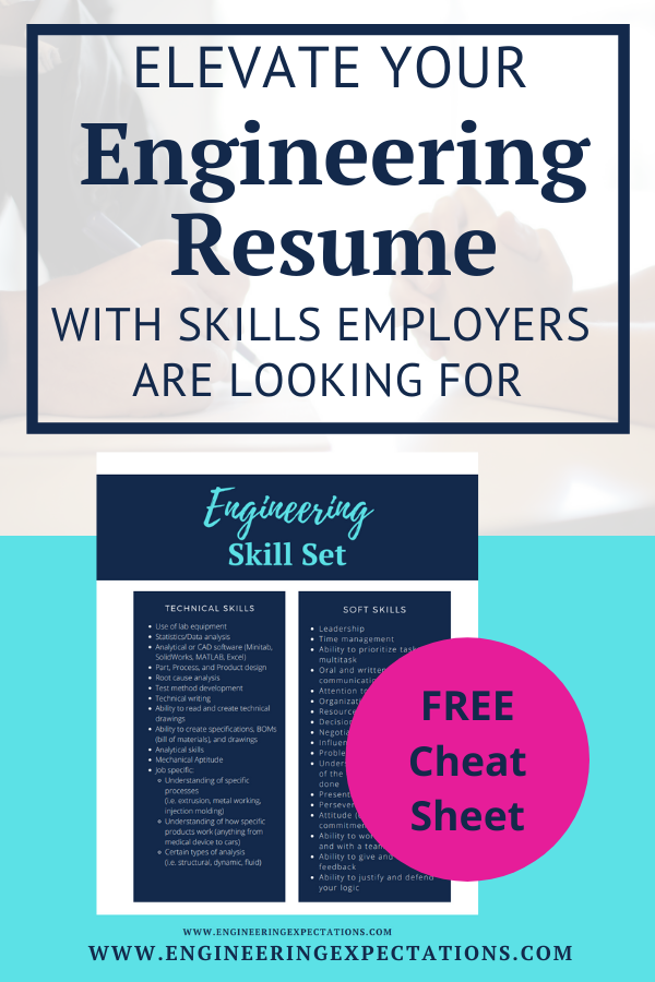 Elevate Your Engineering Resume With Skills Employers Are Looking For Engineering Resume College Resume List Of Skills