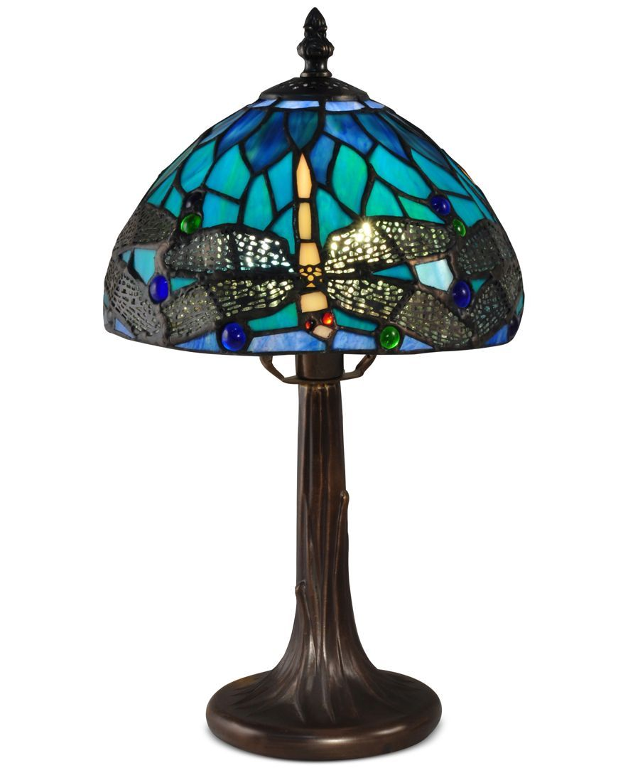 Dale Tiffany Classic Dragonfly Accent Table Lamp & Reviews