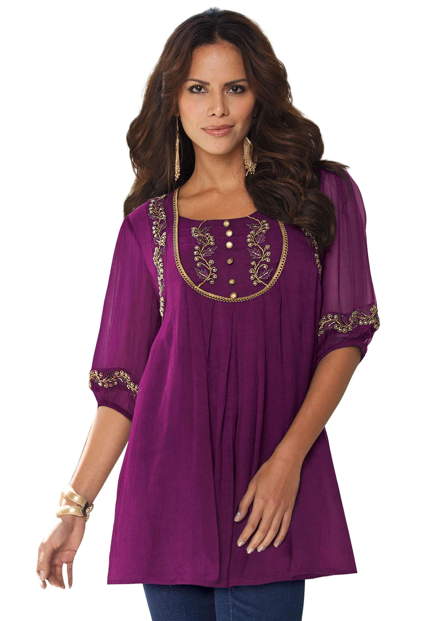 96400720a5 Love this top.  60 Plus Size Clothing - Fashion for Plus Size women ...