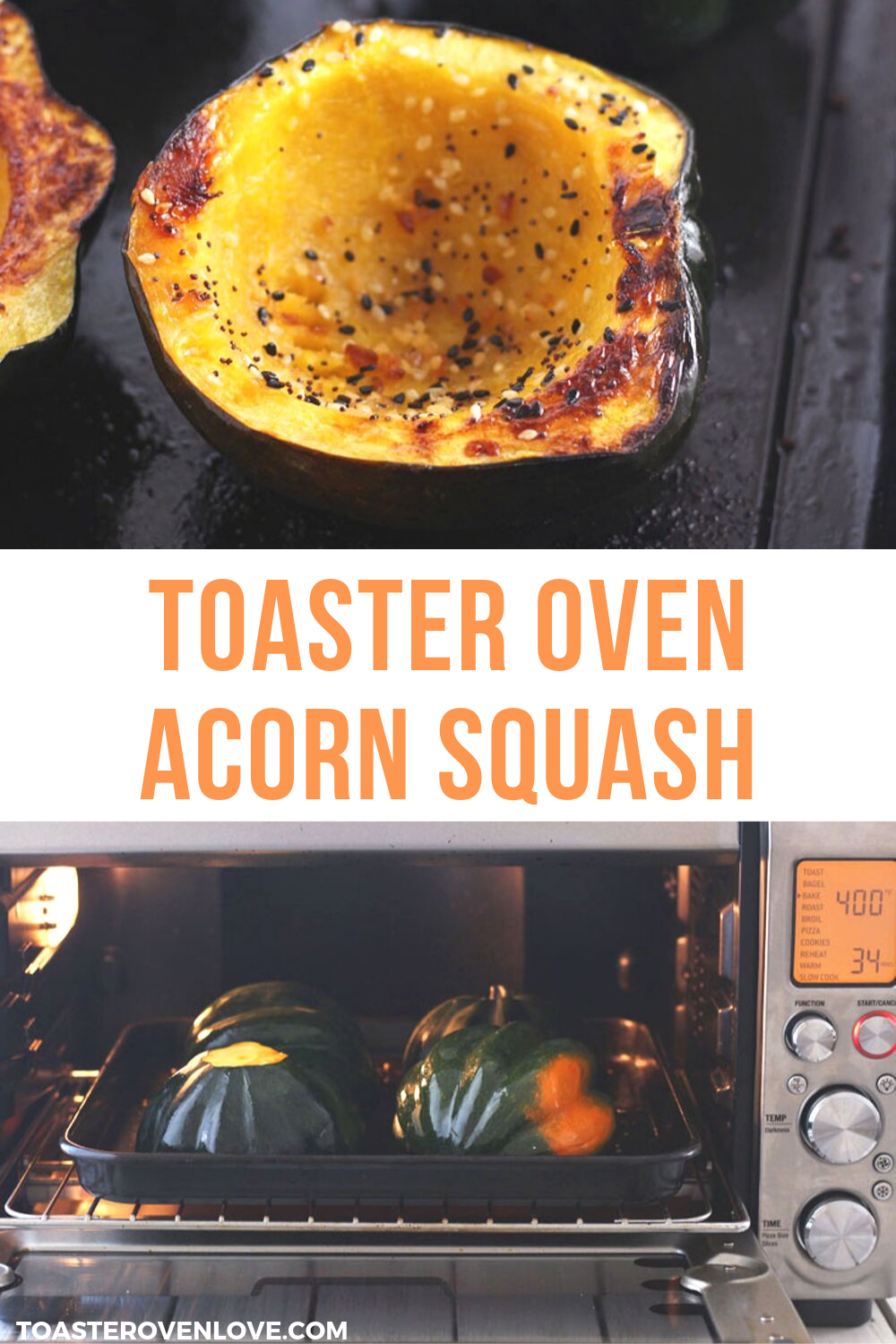 Toaster Oven Acorn Squash Bowls Recipe Side Dishes Easy Meals