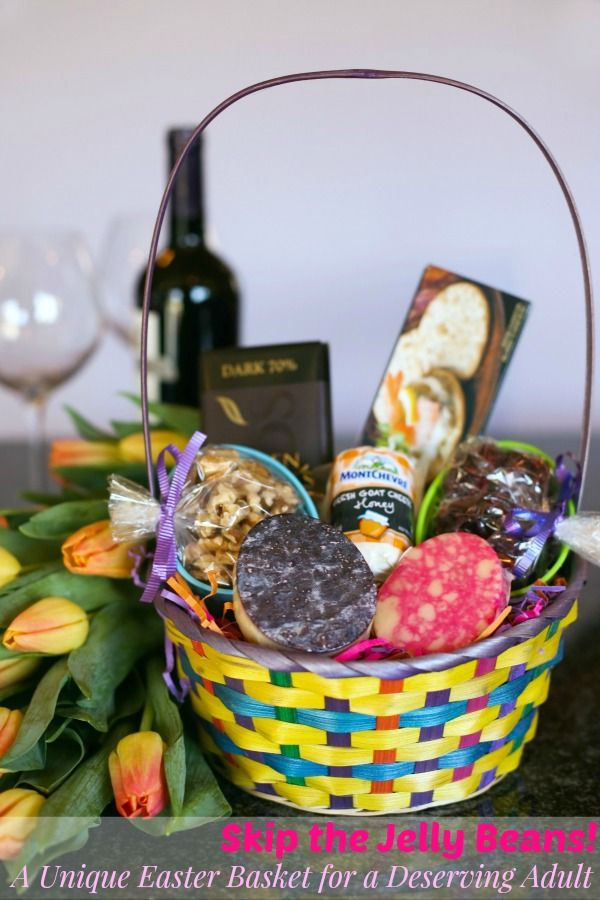 A unique easter basket perfect for a deserving adult easter easter negle Images