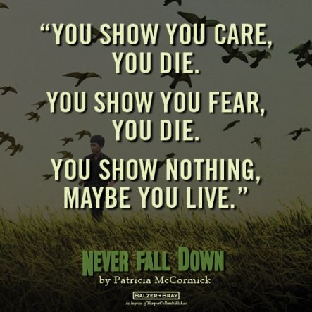 January Book Club Never Fall Down Bookish Quotes Books Ya