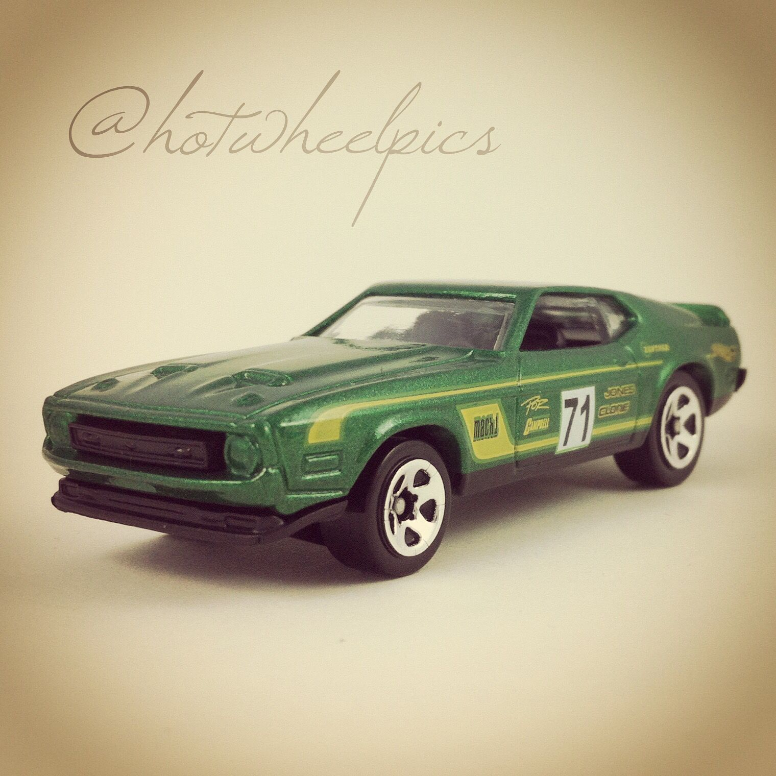 "71 Mustang Mach 1 2016 Hot Wheels ""Ford Performance series"