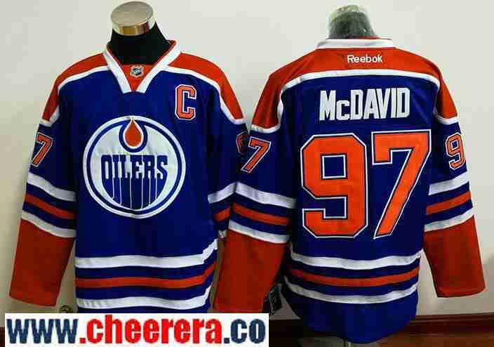 mcdavid jersey with c