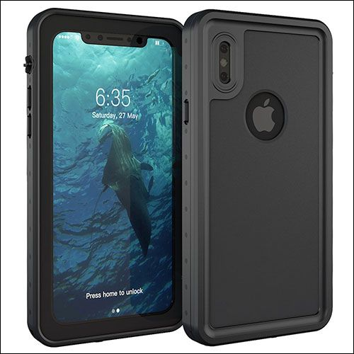 low cost 5ad68 c79f7 Mangix iPhone X Waterproof Case | Accessories | Iphone, Apple iphone ...