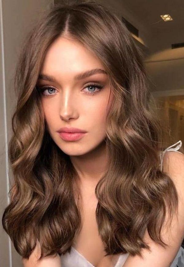 Best Hair Color For Fair Skin Honey Brown Hair Hair Color For Fair Skin Wedding Hair Colors