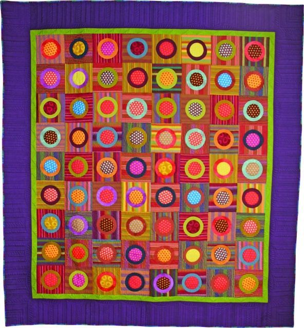 Image result for kaffe fassett circle quilt   circles   Pinterest ... : canadian quilting association - Adamdwight.com