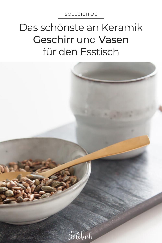 Einzigartige Keramik: Geschirr und Vasen für den gedeckten Tisch #tischdekoherbstesstisch Einzigartige Keramik: Geschirr und Vasen für den gedeckten Tisch! Entdecke die schönsten Dekoideen für deinen Esszimmer mit Vasen! Foto: Sori writes #solebich #geschirr #wishlist #keramik #vasen #esstisch #deko #tischdeko #herbst #tischdekoherbstesstisch