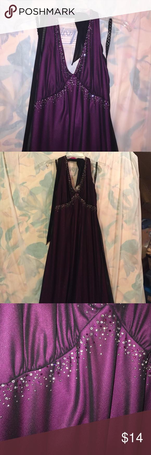 Dark purple long chiffon dress chiffon dress long dark purple and