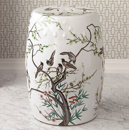 Cherry Blossom Garden Stool This One Is For Me With Images
