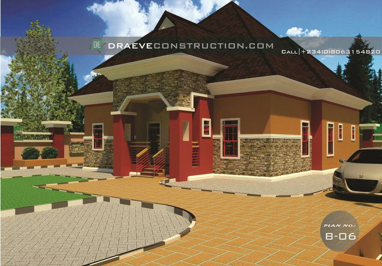 Home Plans For Bungalows In Nigeria Properties 4 Nairaland Bungalow Exterior House Plan Gallery Modern Bungalow House
