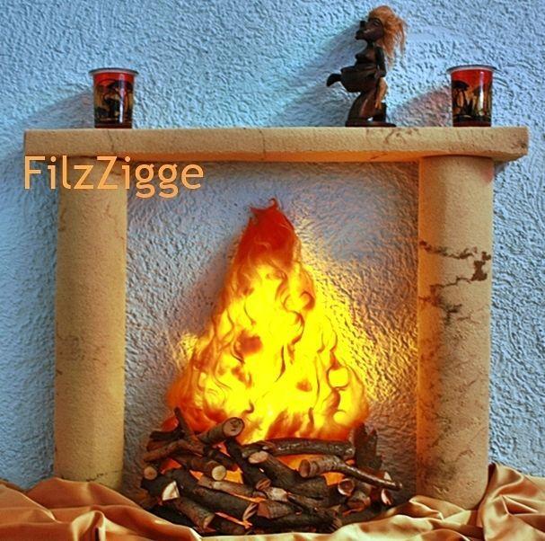 kaminfeuer f r kamin attrappe schwedenofen kaminofen led handarbeit lagerfeuer. Black Bedroom Furniture Sets. Home Design Ideas