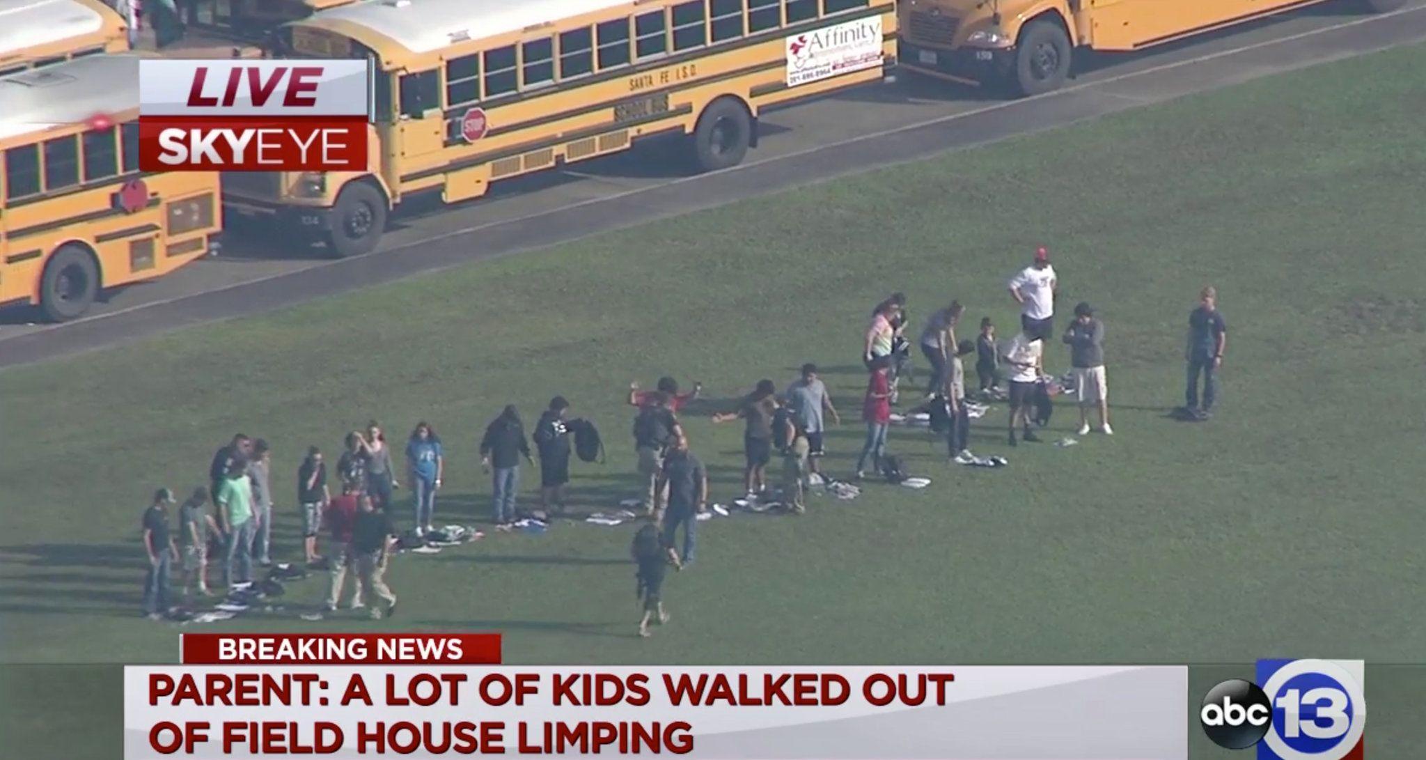 At Least 2 Injured in Santa Fe Texas School Shooting